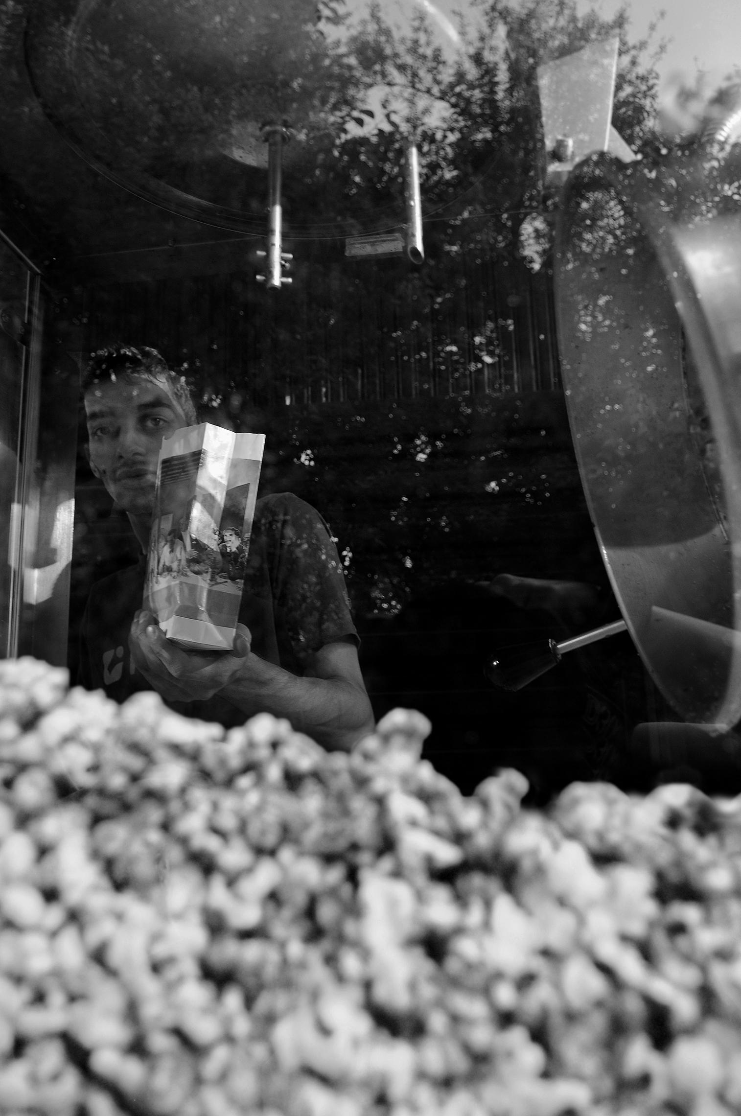 Pop Corn Seller, Bucharest, Romania