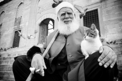 Istanbul, the Old Man & the Cat