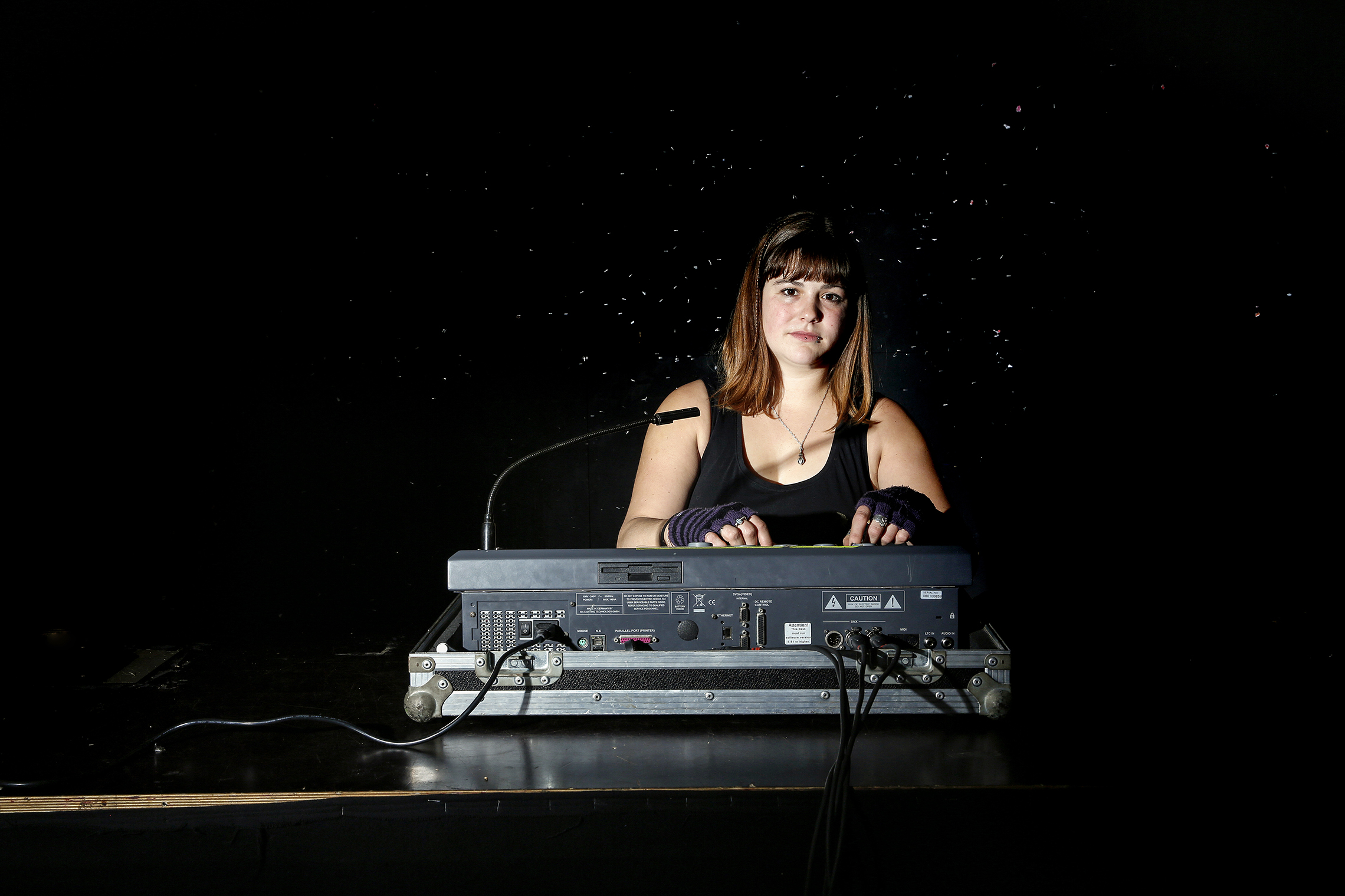 Magalie, technicienne de spectacle, 18h20, Fri-Son